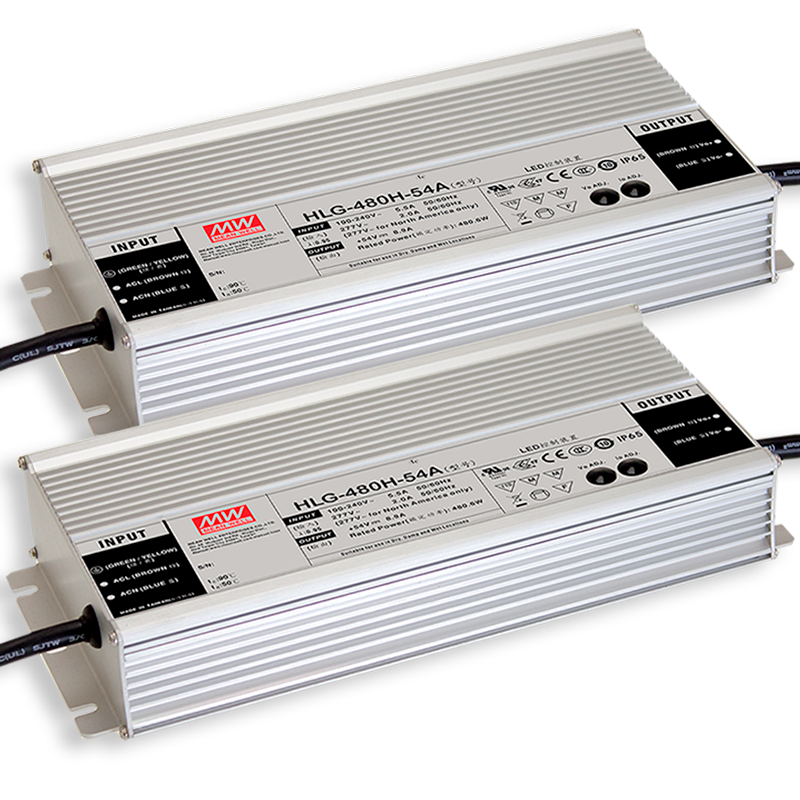 Mean Well HLG-480H Series LED drivers