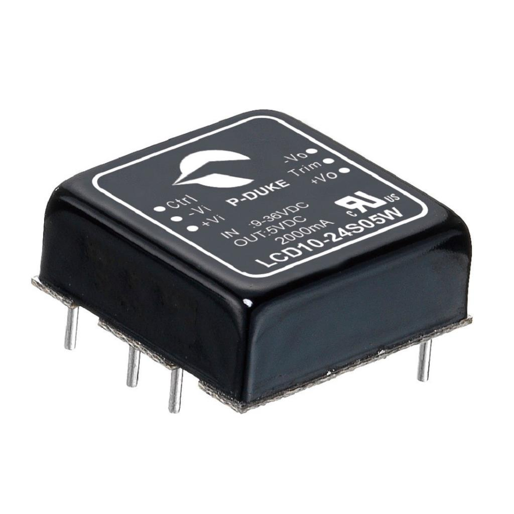 P-Duke LCD10-12S24-A DC-DC converter in DIP package