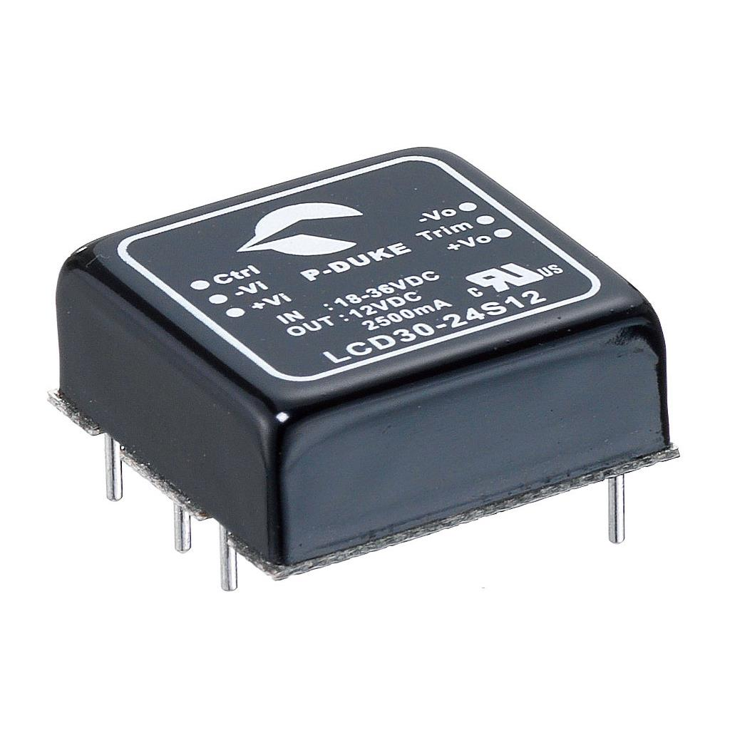 P-Duke LCD30-12D12 DC-DC converter in DIP package