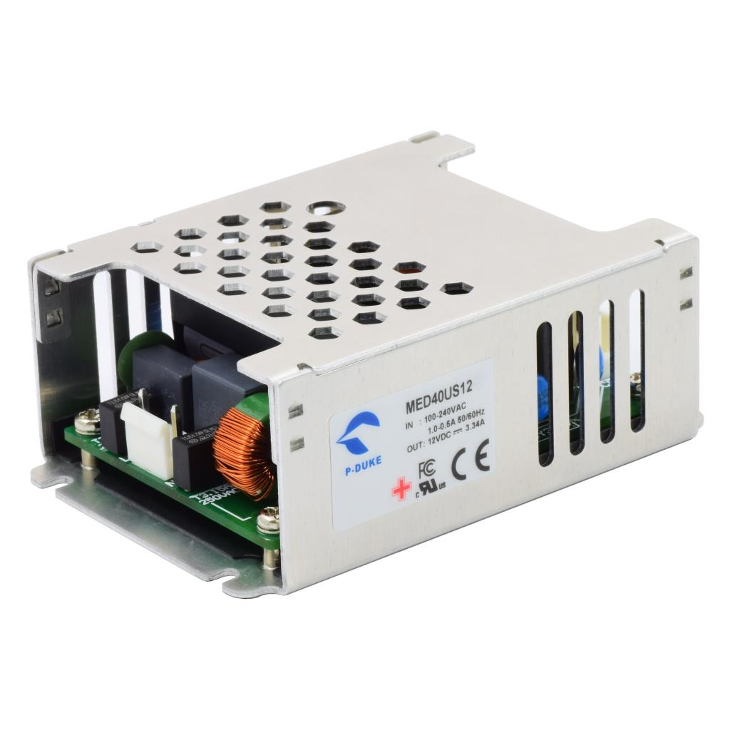 P-Duke MED40US36 AC-DC single logic power supply with JSP connector