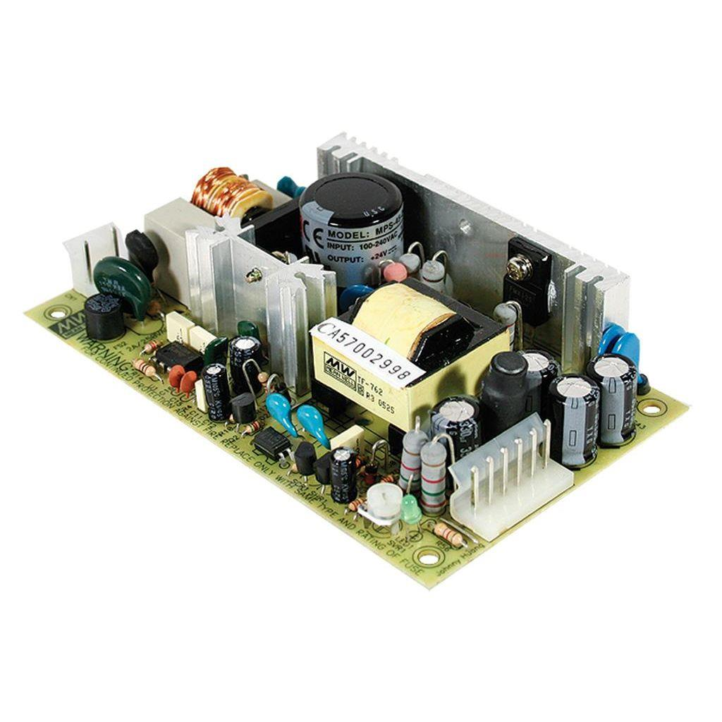 Mean Well MPS-45-27 AC/DC Open Frame - PCB 27V 1.7A Medical Power Supply