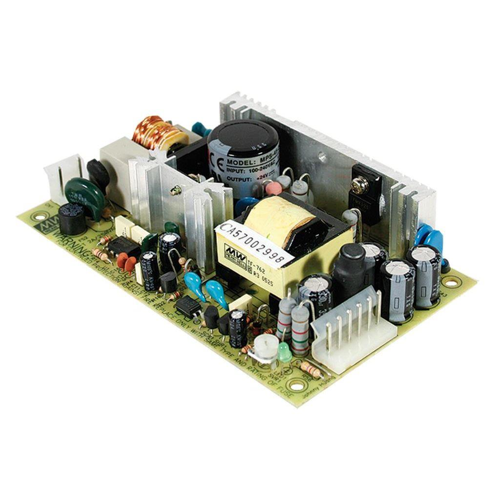 Mean Well MPT-45C AC/DC Open Frame - PCB 5V 5A Medical Power Supply
