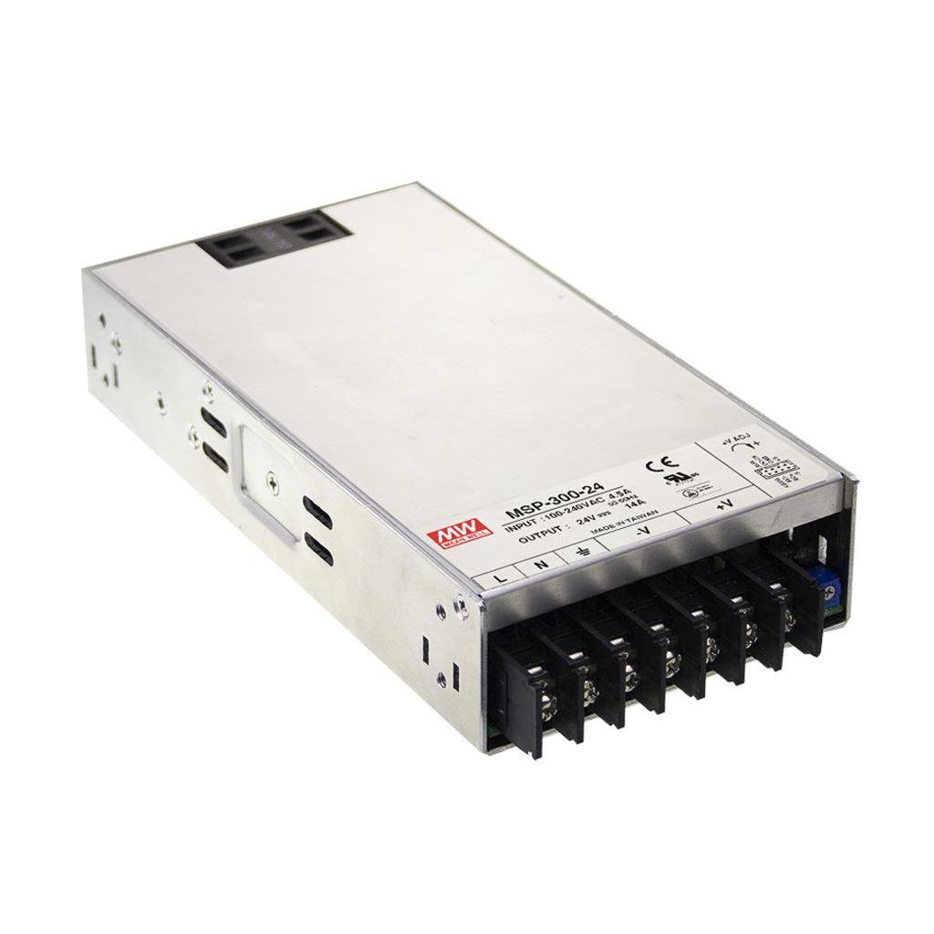 Mean Well MSP-300-24 AC/DC Box Type - Enclosed 24V 14A Power Supply