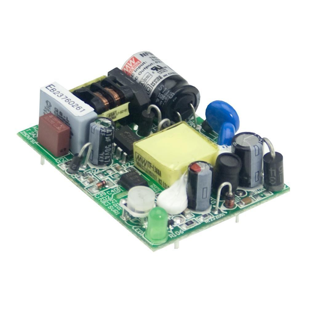 Mean Well NFM-05-3.3 AC/DC Open Frame - PCB  3.3V 1.25A Power Supply
