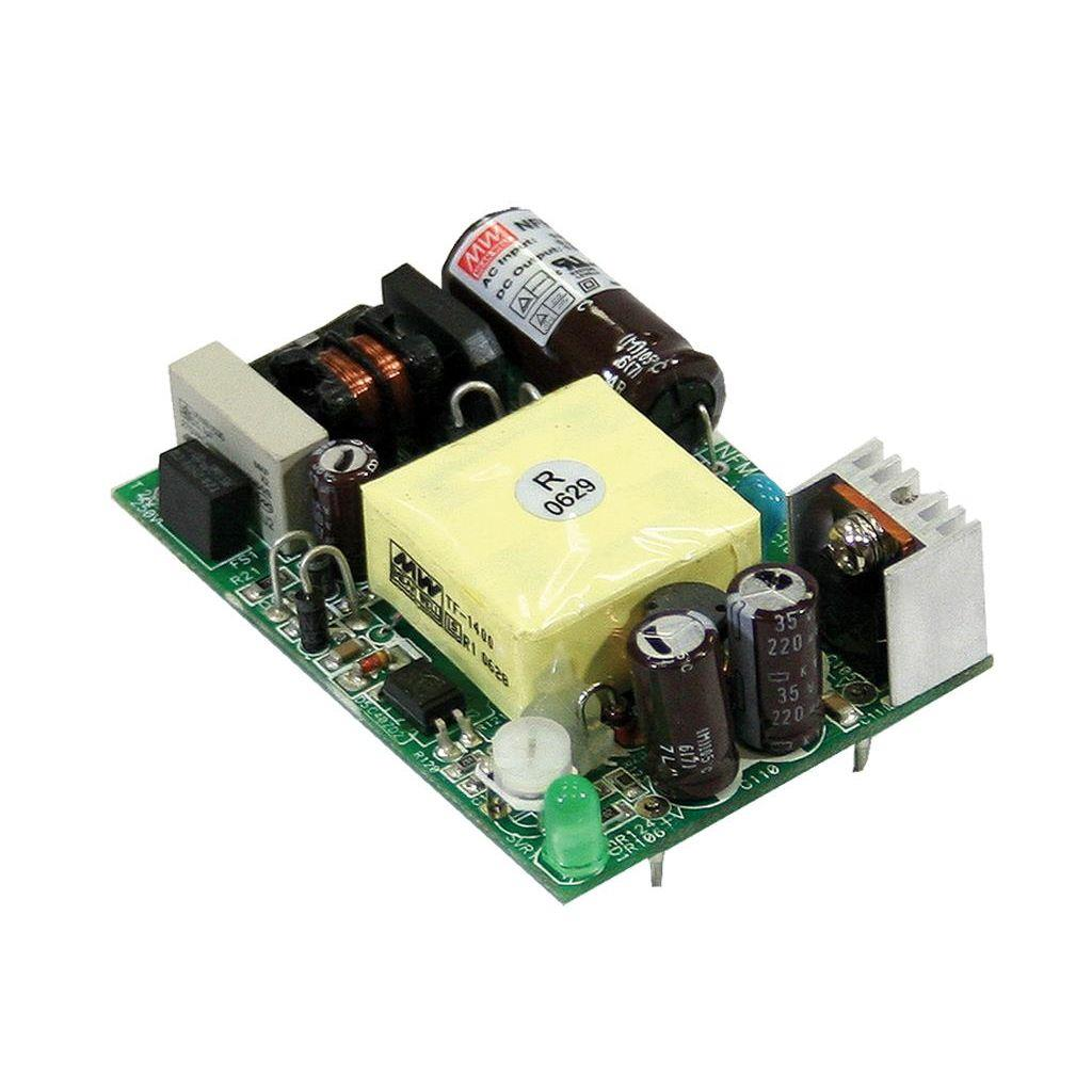 Mean Well NFM-15-15 AC/DC Open Frame - PCB 15V 1A Power Supply