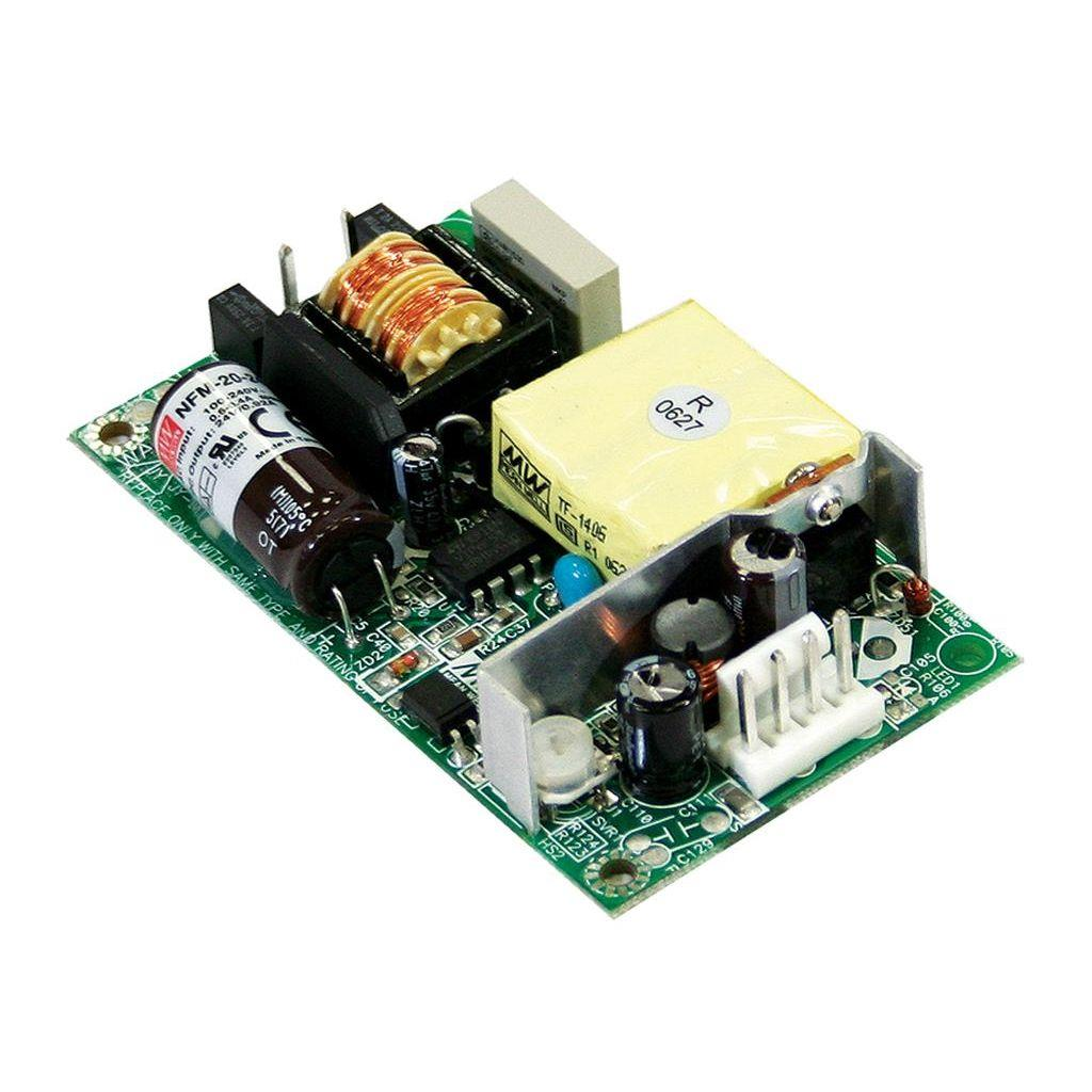 Mean Well NFM-20-5 AC/DC Open Frame - PCB 5V 4.4A Power Supply
