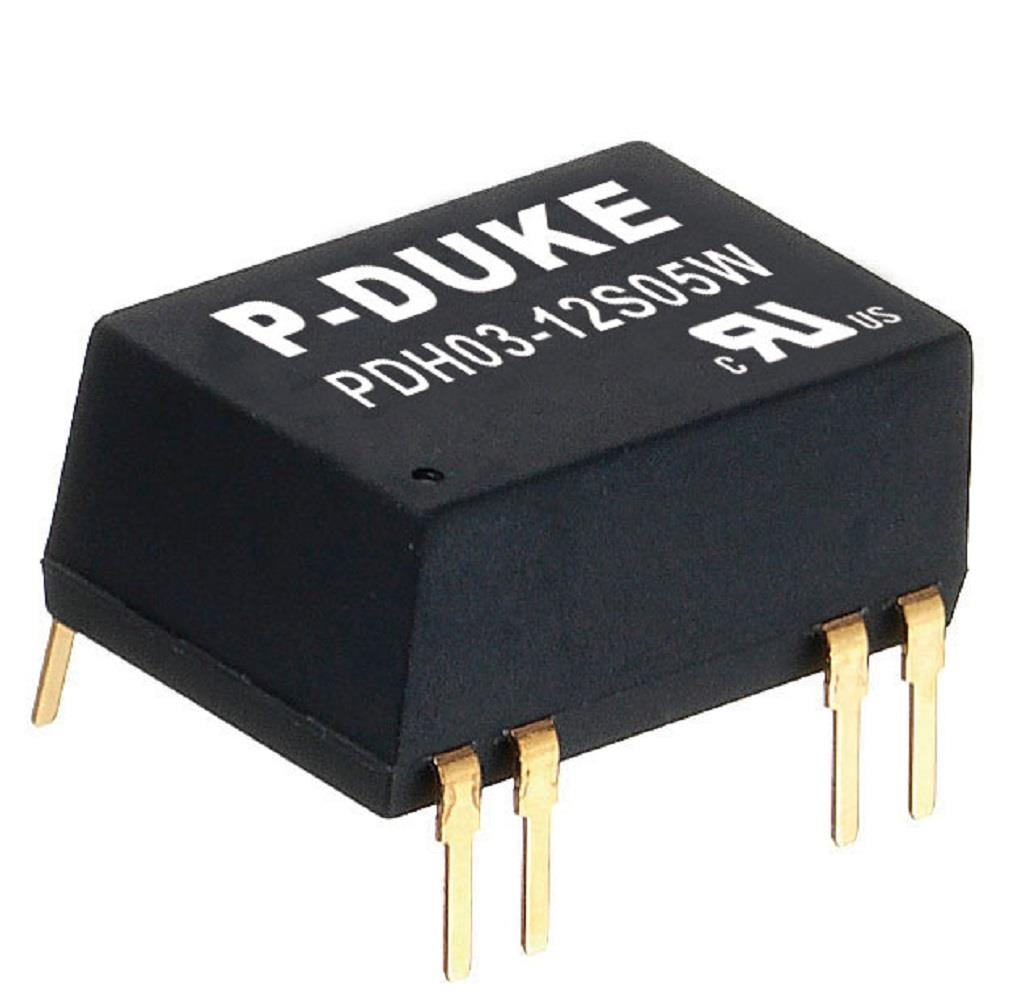 P-Duke PDH03-12S09H DC-DC converter in DIP package