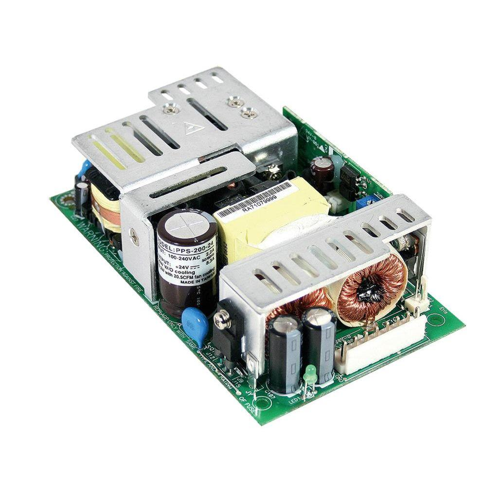 Mean Well PPS-200-27 AC/DC Open Frame - PCB 27V 7.4A Power Supply