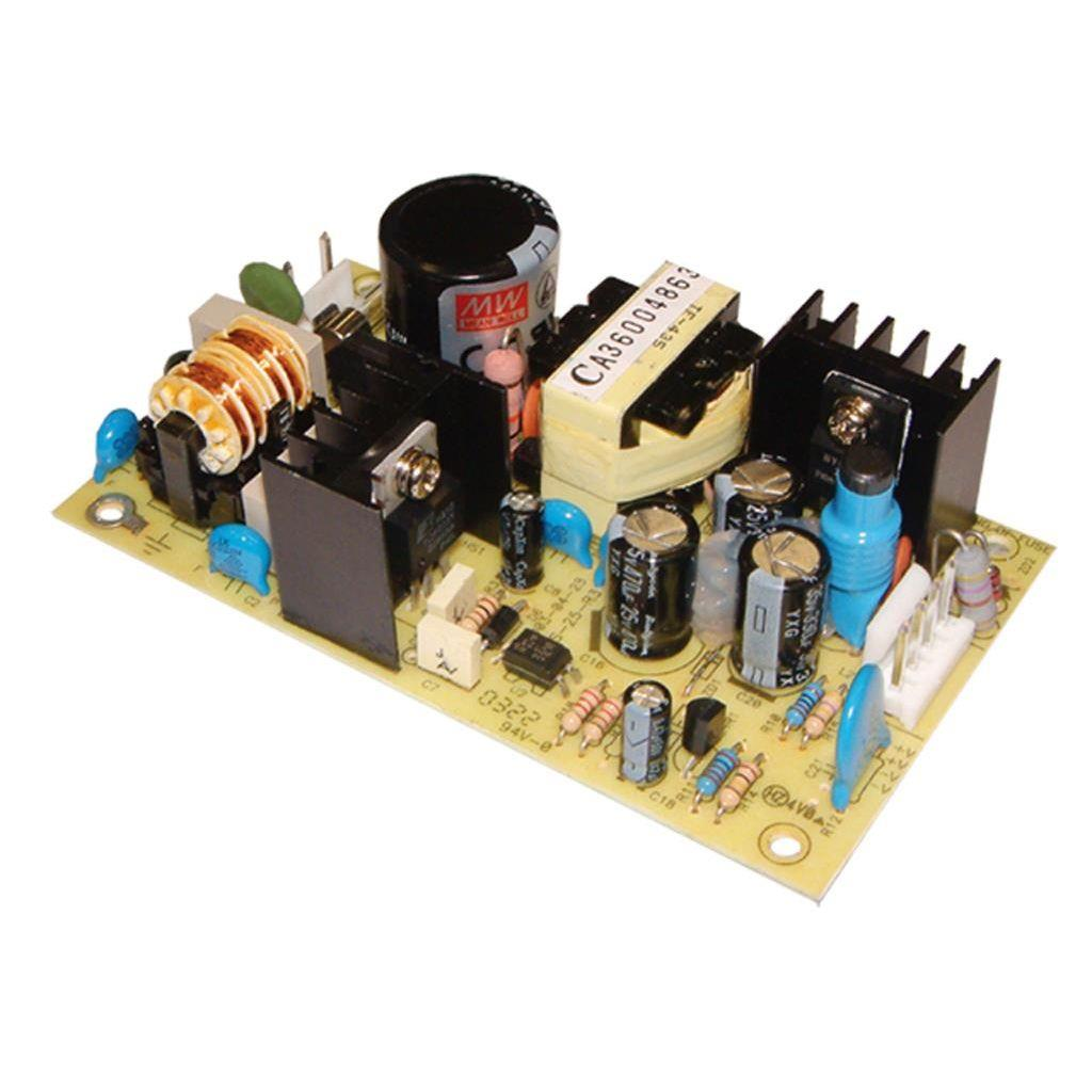 Mean Well PS-25-24 AC/DC Open Frame - PCB 24V 1A Power Supply