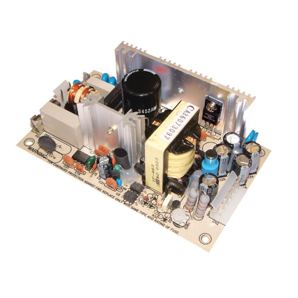 Mean Well PS-65-12 AC/DC Open Frame - PCB 12V 5.2A Power Supply