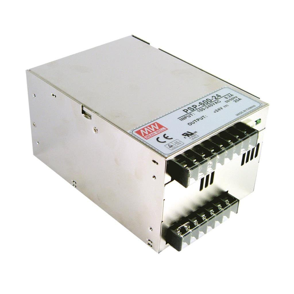 Mean Well PSP-600-27 AC/DC Box Type - Enclosed 27V 22.2A Power Supply