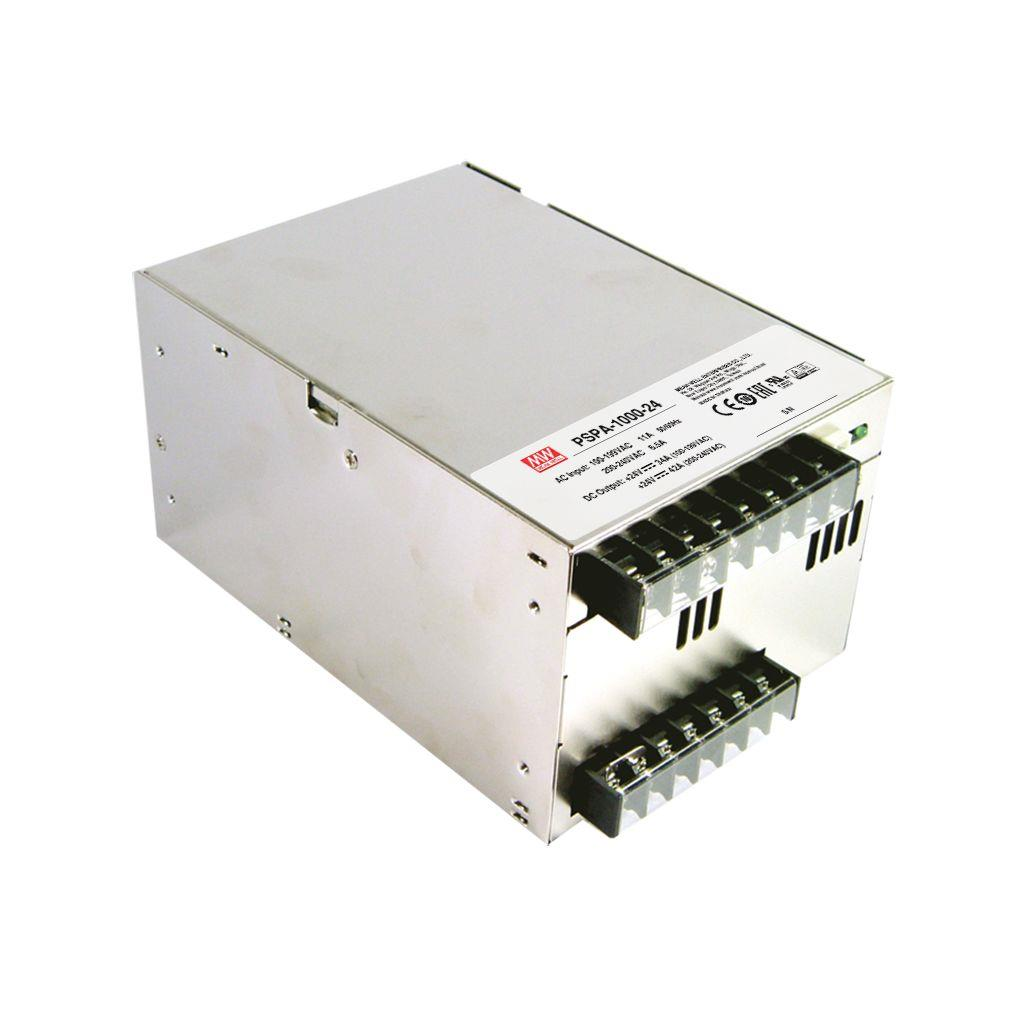 Mean Well PSPA-1000-24 AC/DC Box Type - Enclosed 24V 42A Power Supply