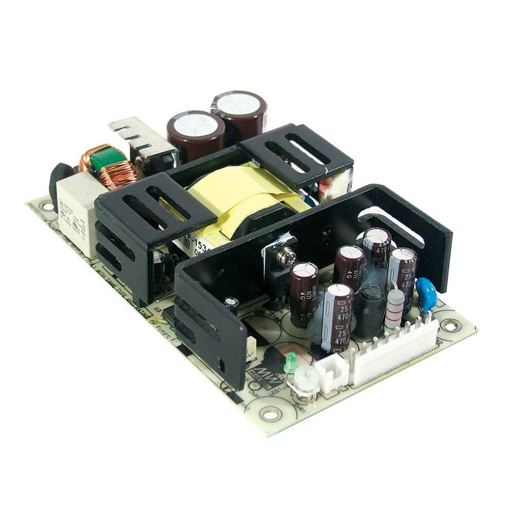 Mean Well RPS-75-24 AC/DC Open Frame - PCB 24V 3.2A Power Supply