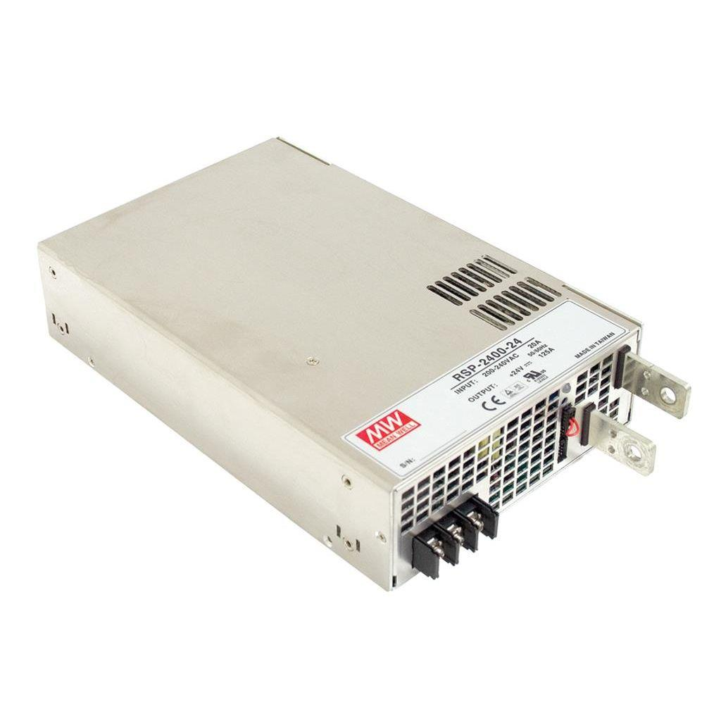 Mean Well RSP-2400-12 AC/DC Box Type - Enclosed 12V 166A Power Supply