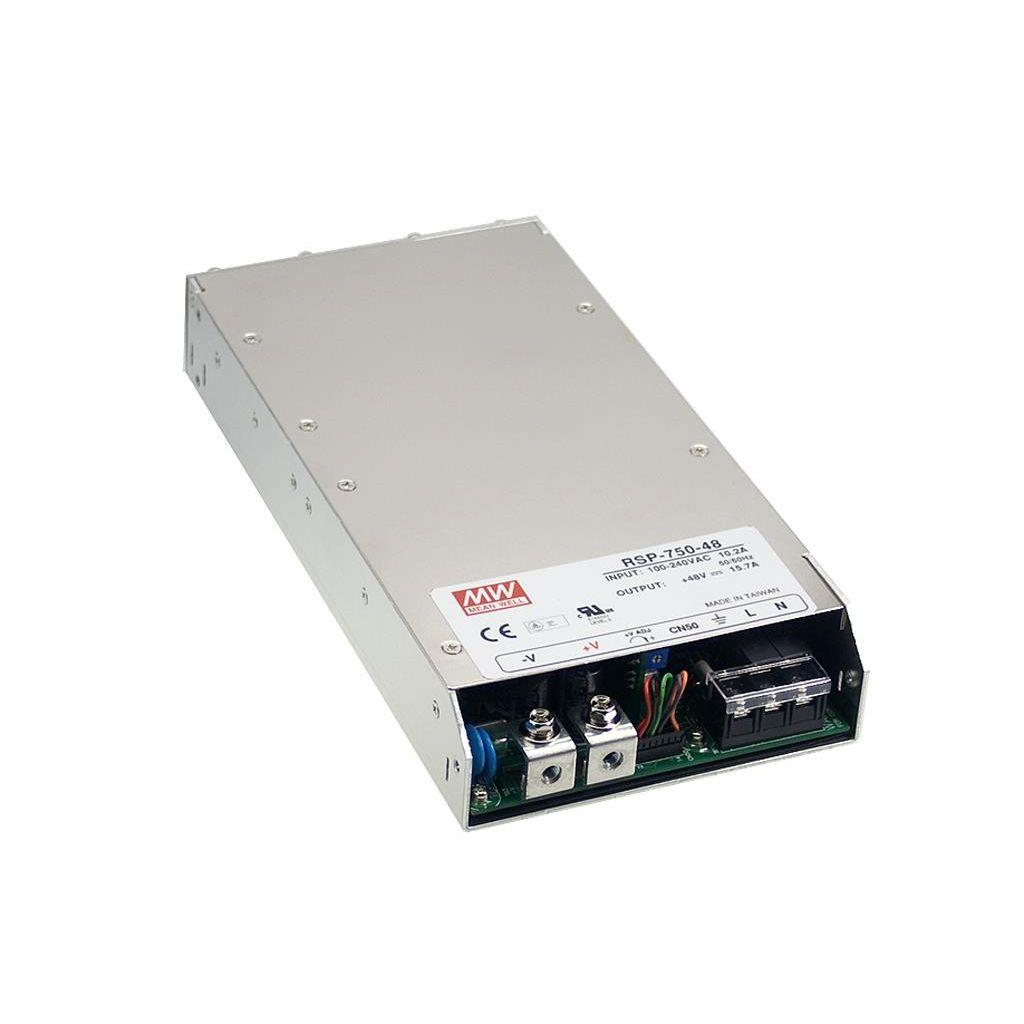 Mean Well RSP-750-24 AC/DC Box Type - Enclosed 24V 31.3A Power Supply