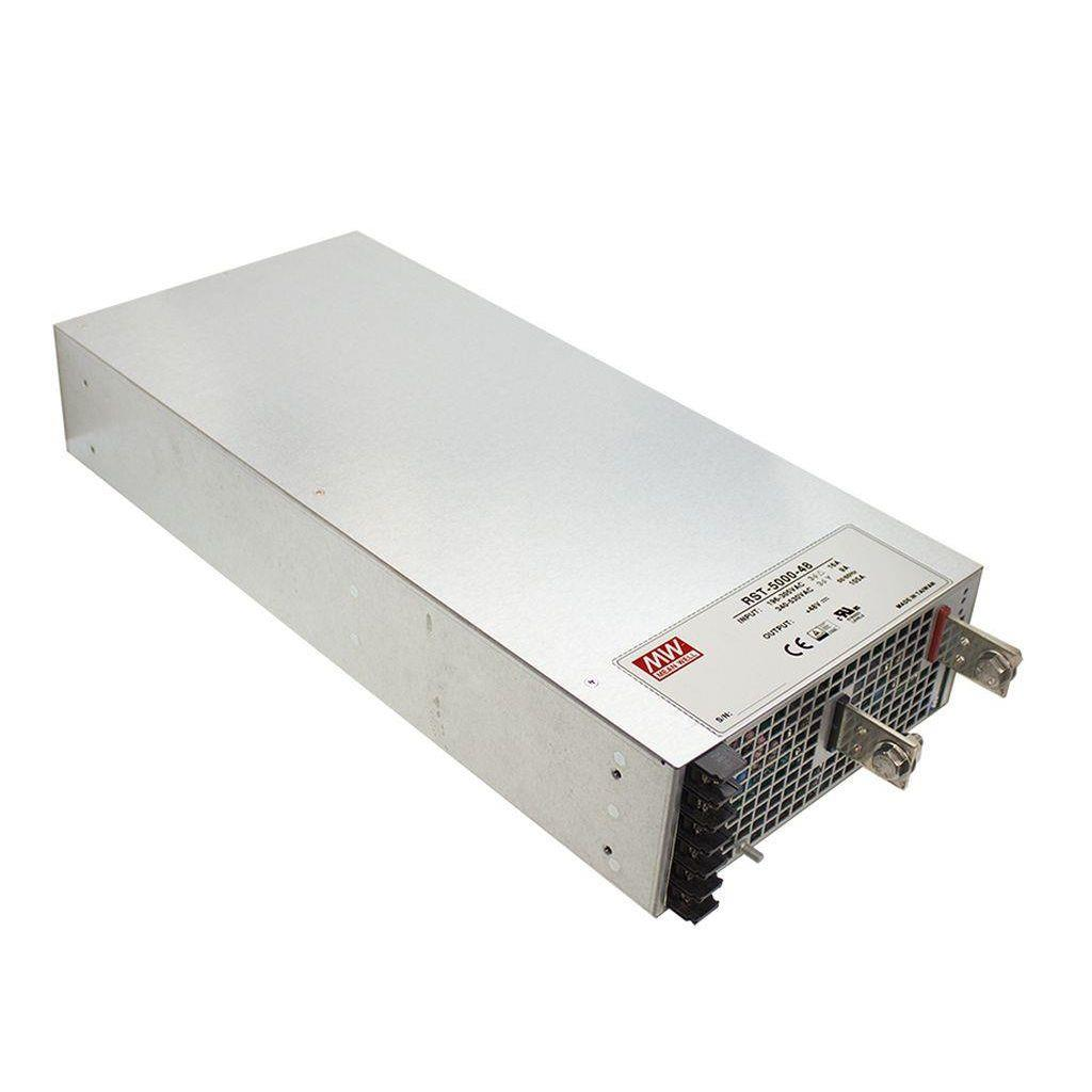 Mean Well RST-5000-36 AC/DC Box Type - Enclosed 36V 138A Power Supply