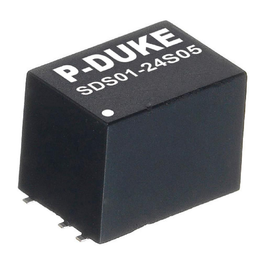 P-Duke SDS01-48S05H DC-DC converter in SMD package