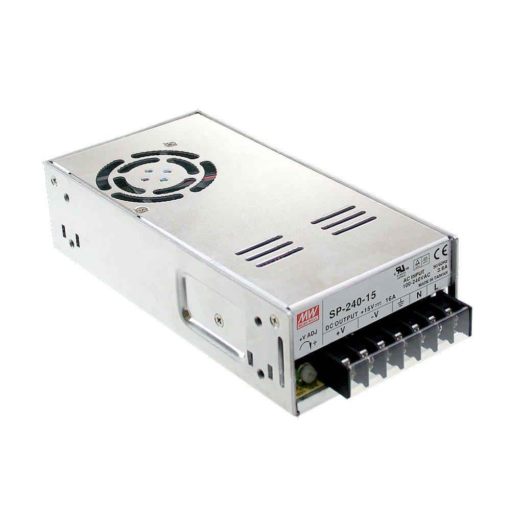 Mean Well SP-240-12 AC/DC Box Type - Enclosed 12V 20A Power Supply