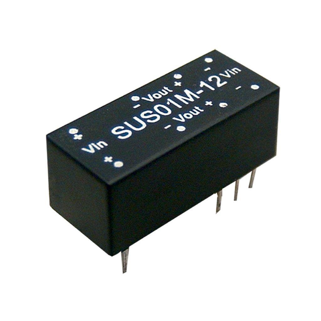 Mean Well SUS01N-09 DC/DC PCB Mount - Through Hole 9V 0.111A Converter