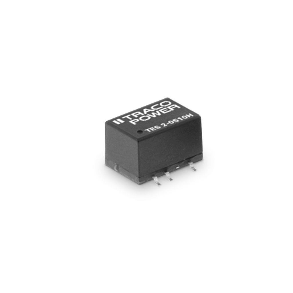 DC-DC Converter PCB mount; Input 5Vdc; Output 3.3Vdc at 0.5A; SMD package; 1500 Vdc I/O isolation