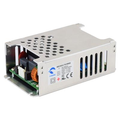 P-Duke MED65UD03 AC-DC dual logic power supply with terminal block