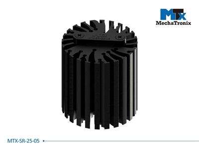 Mechatronix MTX-SR-25-05 Mounting pitch 25mm Zhaga Book 11 cable strain reliefs with cable / wire gap 0.5mm for MTX standard LED Coolers