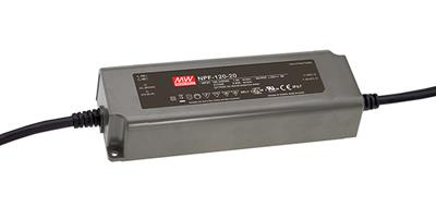 Mean Well NPF-120-20 AC/DC C.V. C.C. Box Type - Enclosed 20V 6A Single output LED driver