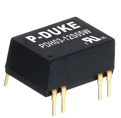 P-Duke PDH03-12S15 DC-DC converter in DIP package