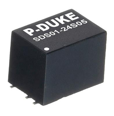 P-Duke SDS01-48S24 DC-DC converter in SMD package