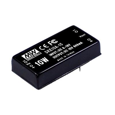 Mean Well SKE10B-15 DC/DC PCB Mount - Through Hole 15V 0.66A Converter