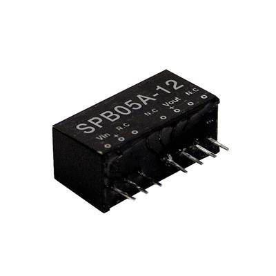 Mean Well SPB05A-05 DC/DC PCB Mount - Through Hole 5V 1A Converter
