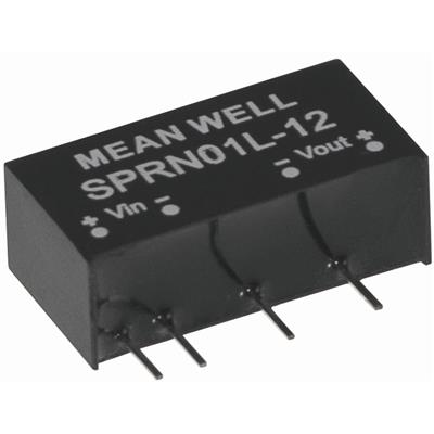 Mean Well SPRN01L-15 DC/DC PCB Mount - Through Hole 15V 67A Converter