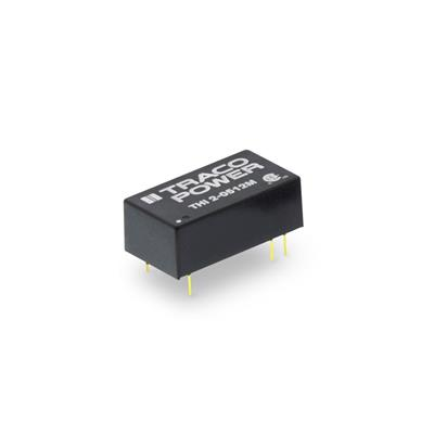 DC-DC Converter PCB mount; Input 12Vdc; Output 12Vdc at 0.165A; SMD package; 3000 VAC I/O isolation; 2xMOPP