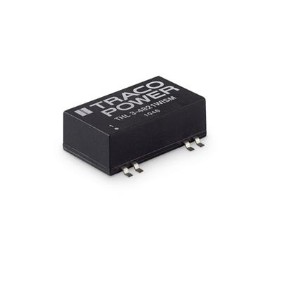 DC-DC Converter PCB mount; Input 9-36Vdc; Output 24Vdc at 0.125A; SMD package; Ultrawide input range; 1500 Vdc I/O isolation; Remote On/Off
